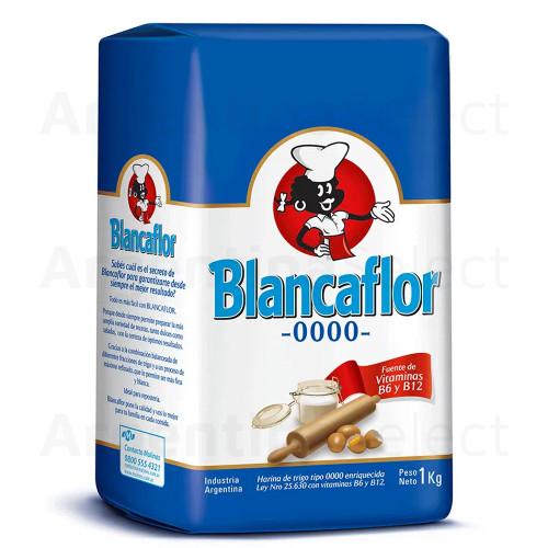 Harina Blancaflor 0000. Pack x 1 Kg. Argentina Select.