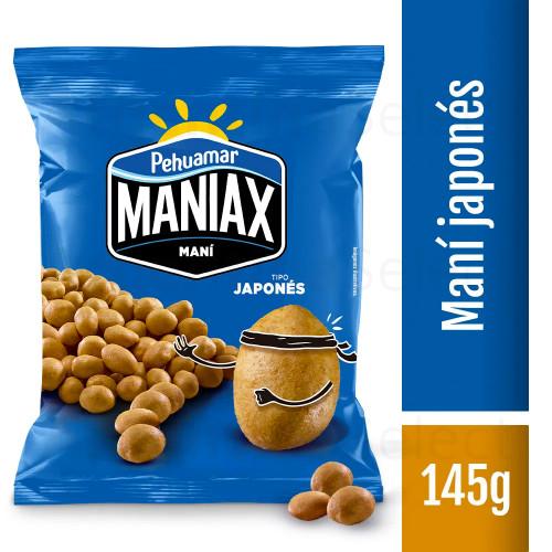 Snack Mani Japones Salado Pehuamar 145gr. Sólo en Argentina Select