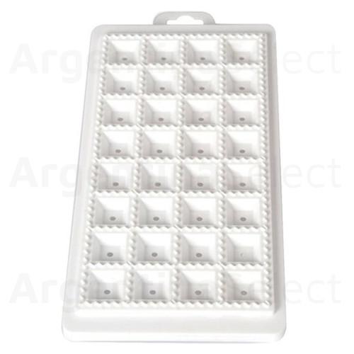 Raviolera Placa Molde Plástica para Cortar Ravioles, 32 Cortes. Argentina Select.