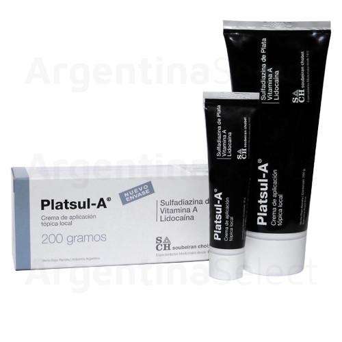Platsul A - Crema Cicatrizante x 200 gr. Argentina Select.