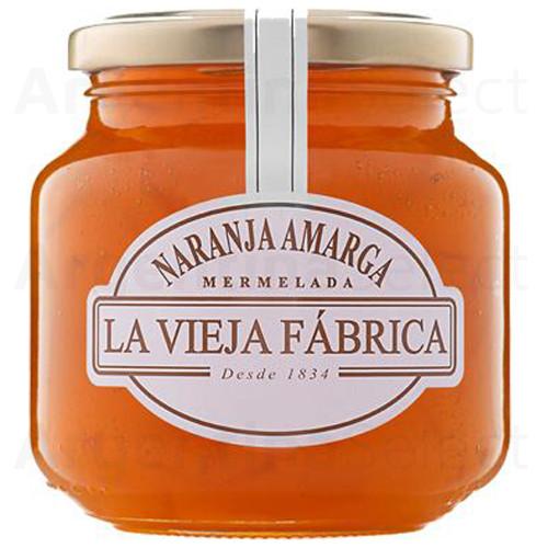 La Vieja Fábrica Mermelada Naranja Amarga - Bitter Orange Jam, 350 g. Argentina Select.