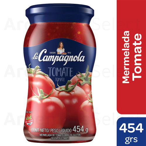 La Campagnola Mermelada de Tomate Classic Tomato Jam, 454 g / 1 lb. Argentina Select.