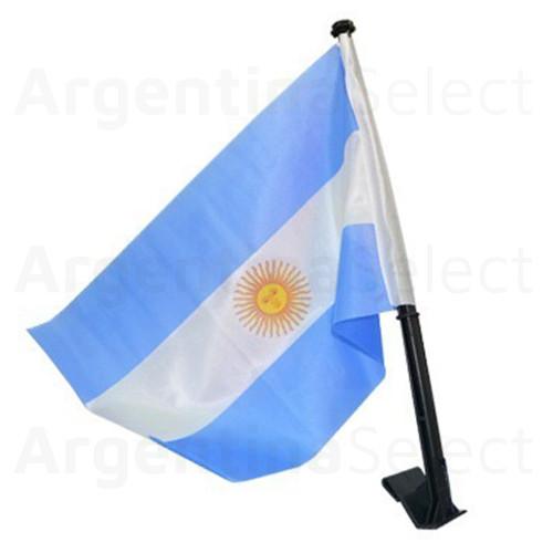 Bandera Argentina p/Ventanilla de Auto Carflag de 30 x 45cm. Argentina Select.