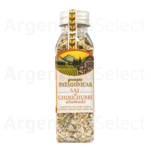 Granjas Patagónicas Sal al Chimichurri Ahumada, 100 g / 3.52 oz. Argentina Select.