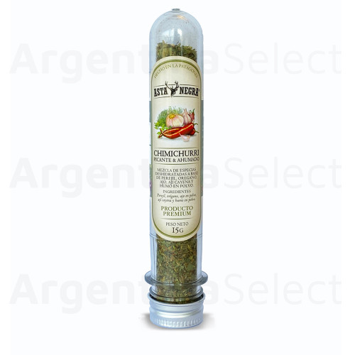 Granjas Patagónicas Chimichurri Picante y Ahumado, 15 g / 0.53 oz. Argentina Select.