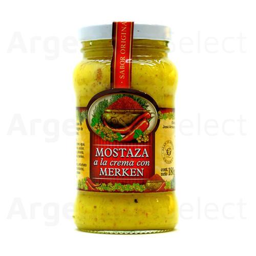 Granjas Patagónicas Mostaza a la Crema con Merken, 180 g / 6.35 oz. Argentina Select.