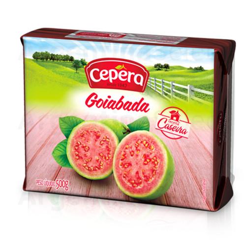 Cepera Dulce de Guayaba 500 gr. Goiabada Brazil. Argentina Select.