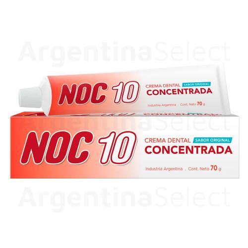 NOC 10 Crema Dental Concentrada 70 gr. Concentrated Toothpaste