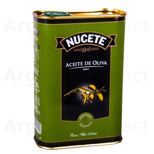 Nucete Aceite de Oliva en Lata, 500cc. Argentina Select.