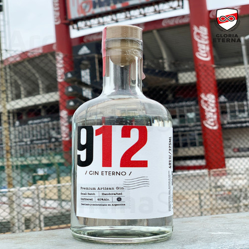 Gin Eterno 912, 375 Ml. Argentina Select.