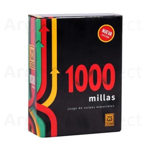 1000 Millas Juego de Mesa de Cartas. Argentina Select.