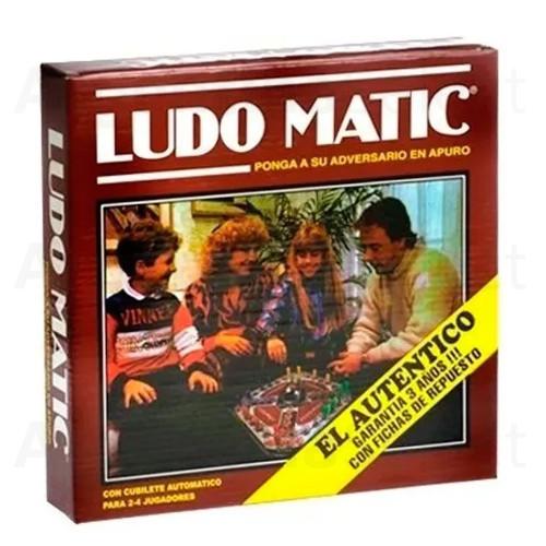 Ludo Matic Juego de Mesa El Auténtico. Argentina Select.