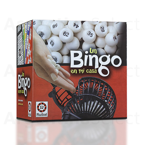 Un Bingo en Mi Casa Juego de Mesa Bingo y Lotería. Argentina Select.