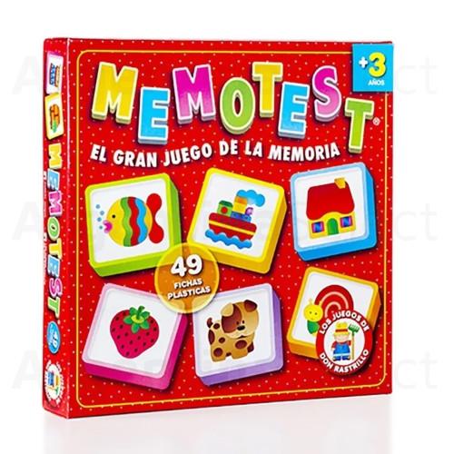 Memotest Juego de Mesa El Gran Juego de la Memoria. Argentina Select.