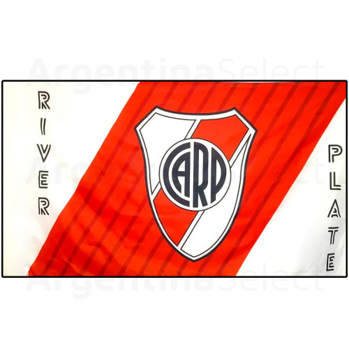 Bandera Grande River Plate Lic. Oficial 120cm x 194 cm. Argentina Select.
