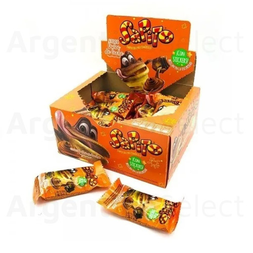Arcor Chocolate Sapito Sabor Dulce de Leche, 240 g / 8.46 oz (Complete Box of 20). Argentina Select.