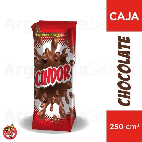 Cindor Chocolatada Classic Milk Chocolate Tetrapack, 250ml / 8.45 fl oz. Argetina Select.