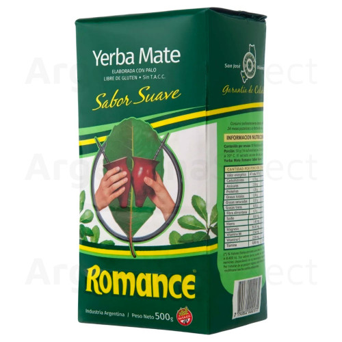 Romance Sabor Suave- Pack 500 gr. Argentina Select.