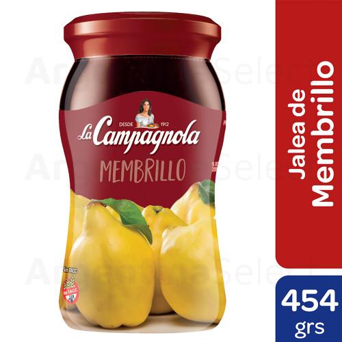 La Campagnola Jalea Membrillo 454 Gr. Sin TACC. Gluten Free. Argentina Select.