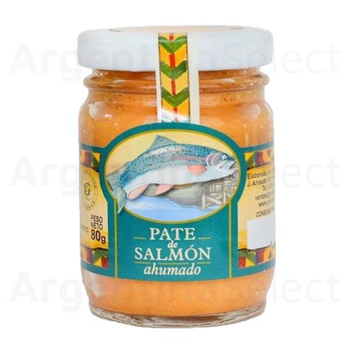 Granjas Patagónicas Paté de Salmón Ahumado, 80 g / 2.82 oz. Argentina Select.