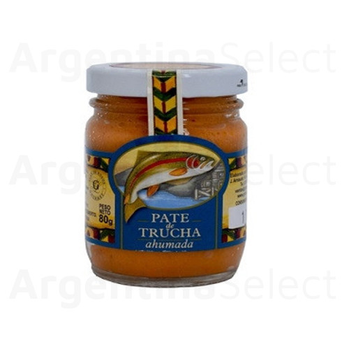 Granjas Patagónicas Pasta Untable de Trucha Ahumada, 80 g / 2.82 oz. Argentina Select.