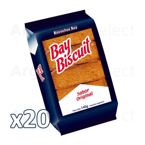 Bay Biscuit Donosti 140gr. Caja x 20. Argentina Select.