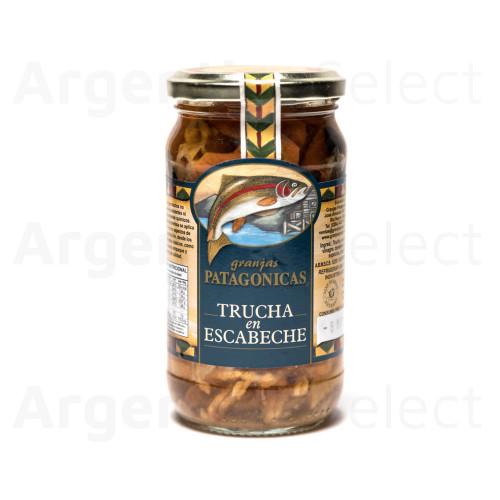 Granjas Patagónicas Trucha en Escabeche 330cc. Argentina Select.