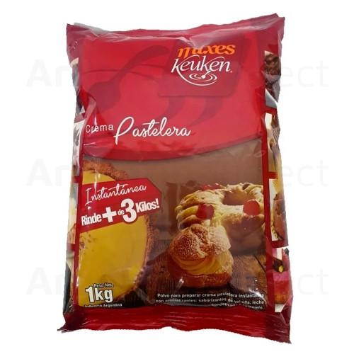 Crema Pastelera Instantanea de Keuken por 1 Kg. Sólo en Argentina Select.