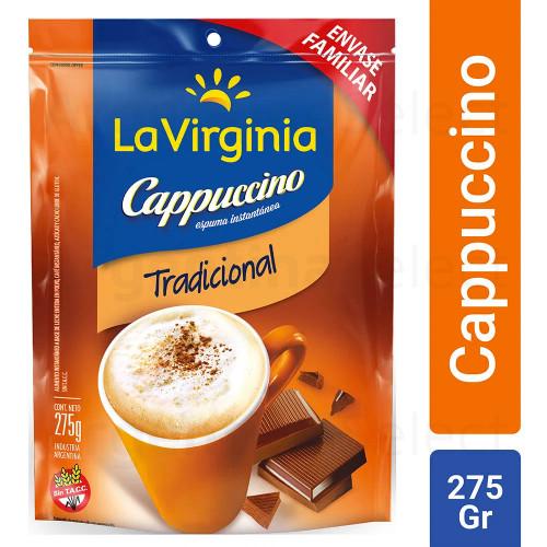 Café Instantáneo La Virginia Cappuccino 275 Gr. Argentina Select.