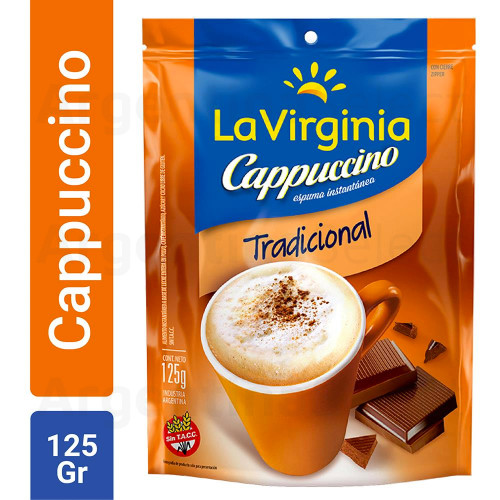 Café Instantáneo La Virginia Cappuccino 125 Gr. Argentina Select.