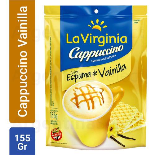 Café Instantáneo La Virginia Cappuccino Espuma Vainilla 155 Gr.