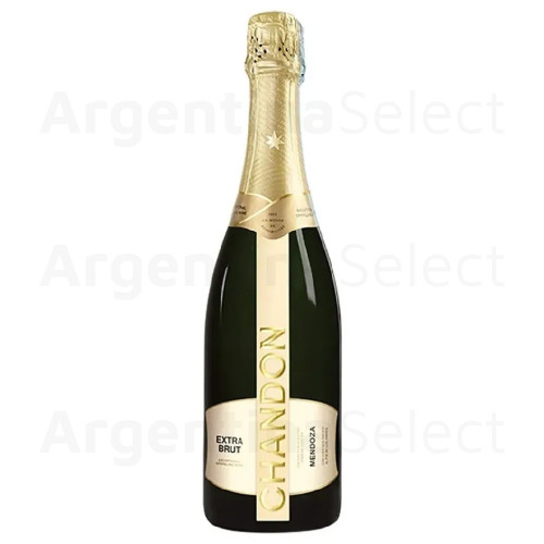 Champagne Chandon Extra Brut. 750 ml. Argentina Select.