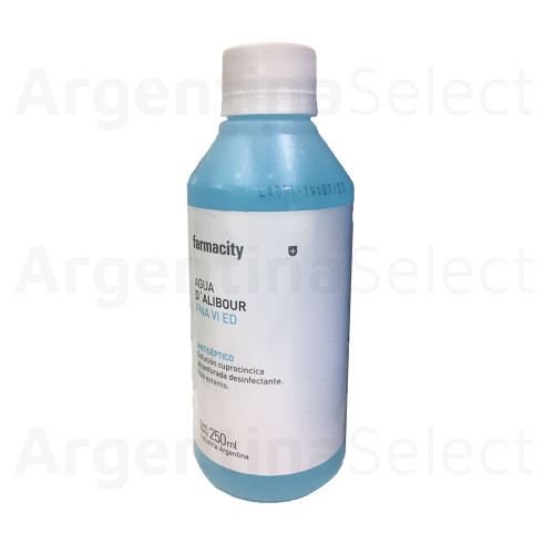 Farmacity Agua D´Alibour, 250ml. Argentina Select.