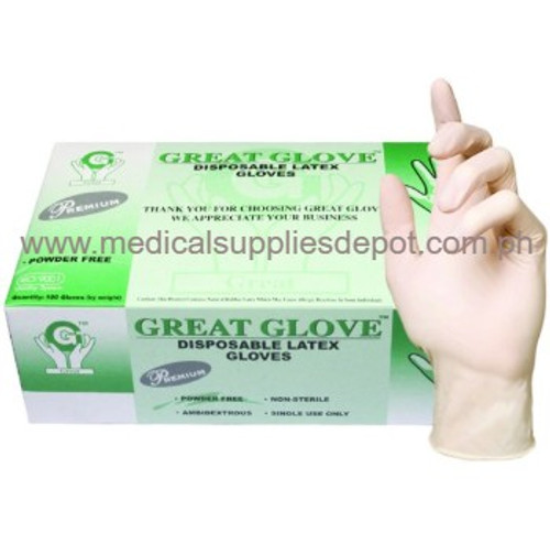 GREAT GLOVES LATEX GLOVES