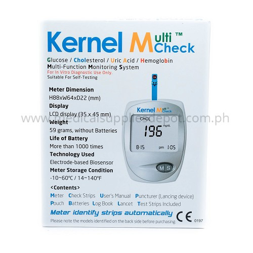 KERNEL MULTI-CHECK 3IN1 METER #ET-301