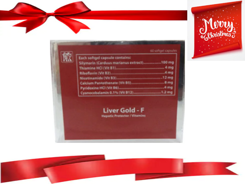 LIVER GOLD-F HEPATIC PROTECTOR / VITAMINS