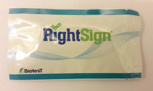 RIGHT SIGN HBSAG RAPID TEST CASSETTE