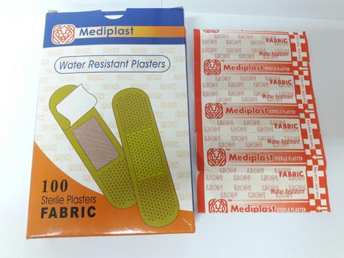 MEDIPLAST STERILE PLASTERS FABRIC