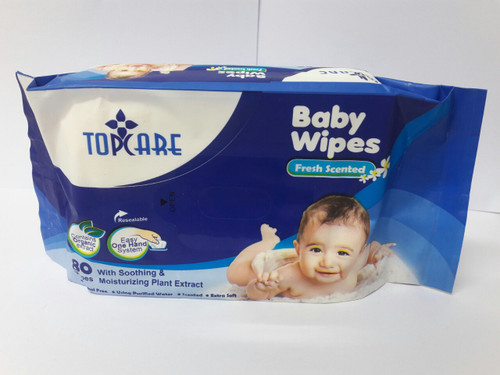 TOPCARE BABY WIPES FRESH SCENTED