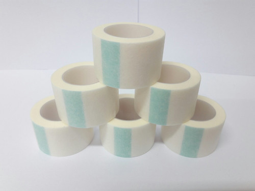 NONWOVEN SURGICAL TAPE 1 INCH (12 PCS)