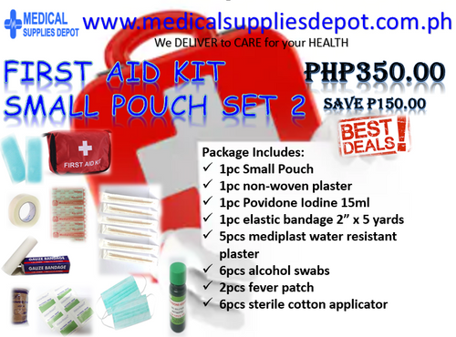FIRST AID KIT SET 2 (CONTENTS INCLUDED)
