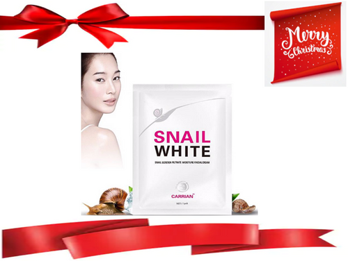 KOREAN SNAIL WHITE FACE MASK