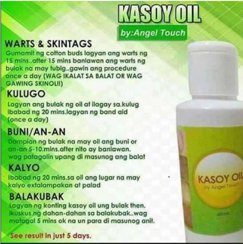 KASOY OIL KASOY CREAM WARTS REMOVER 10GRM