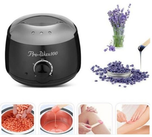 COMPLETE SET SALON PRO WAX 200 HEATER WITH HARD WAX BEANS