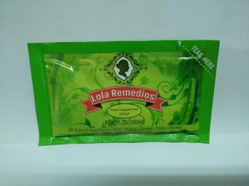 LOLA REMEDIOS FOOD SUPPLEMENT SYRUP (12 SACHETS / BOX)