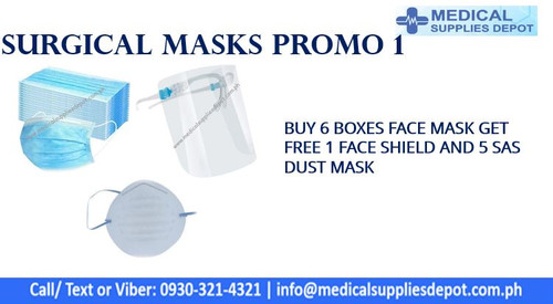 SURGICAL MASK PROMO 1