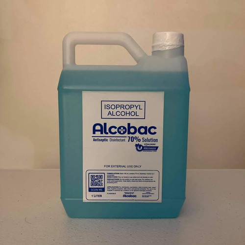 ALCOBAC 70% ISOPROPYL ALCOHOL 1000ML