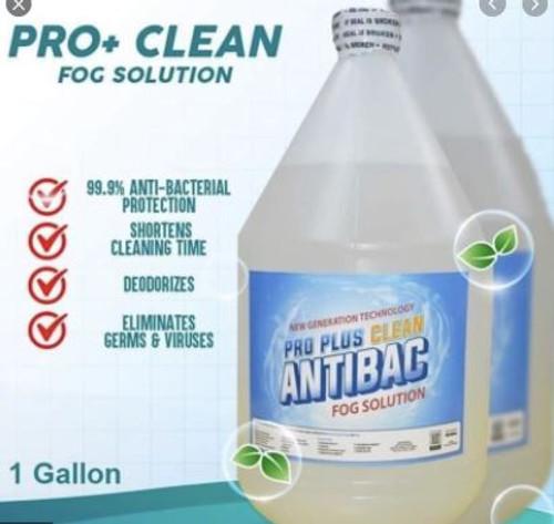 PRO PLUS CLEAN ANTIBAC FOGGING SOLUTION 1 GALLON