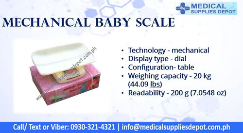 MECHANICAL BABY SCALE