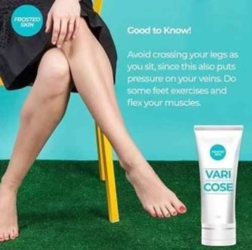 FROSTED SKIN VARICOSE VEIN REMOVER CREAM